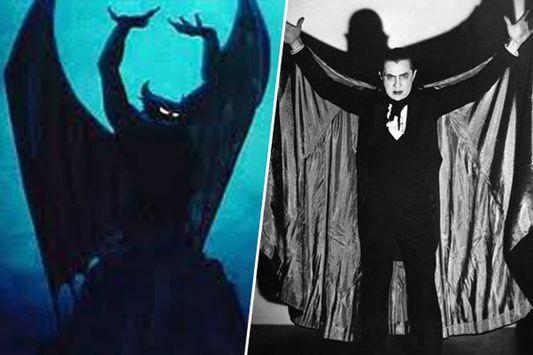 Chernabog (Fantasia), inspiré par Bela Lugosi