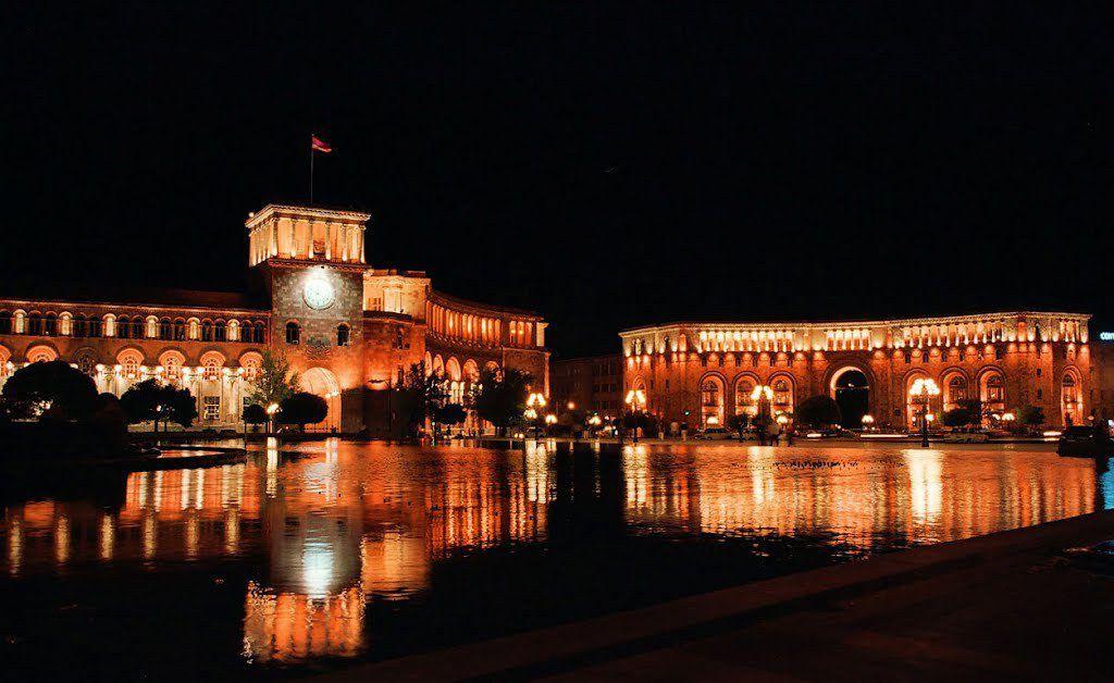 hraparak(dans la capitale arménienne)