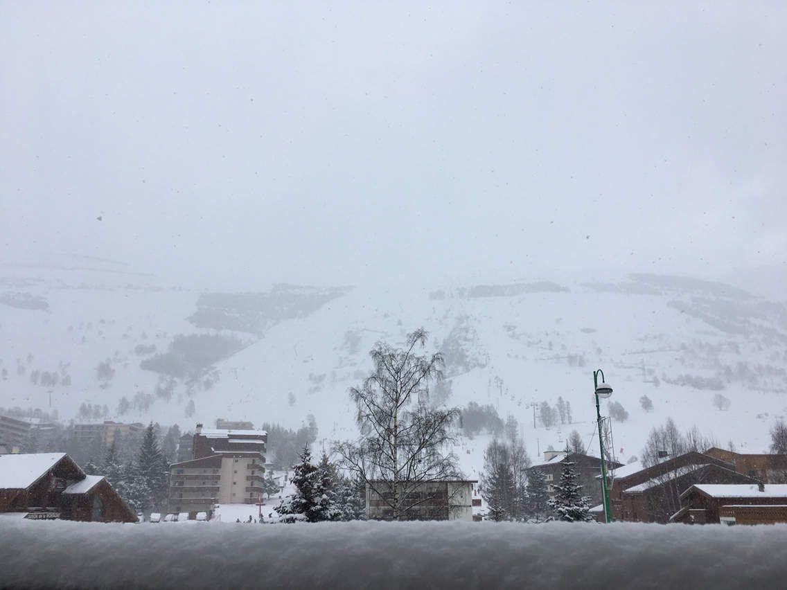 Il neige encore et encore