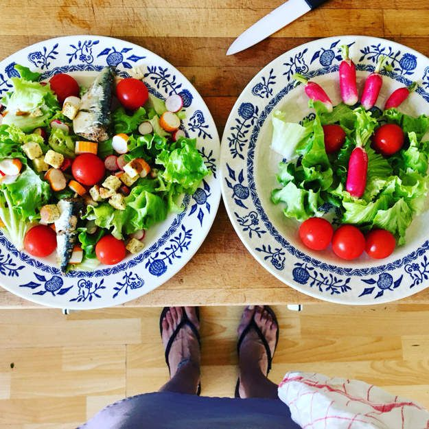 #salade#crudités#été