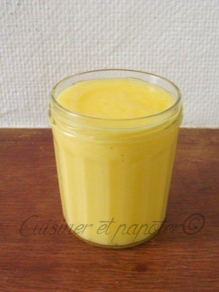 Curd mandarine citron sans beurre avec ou sans Délimix