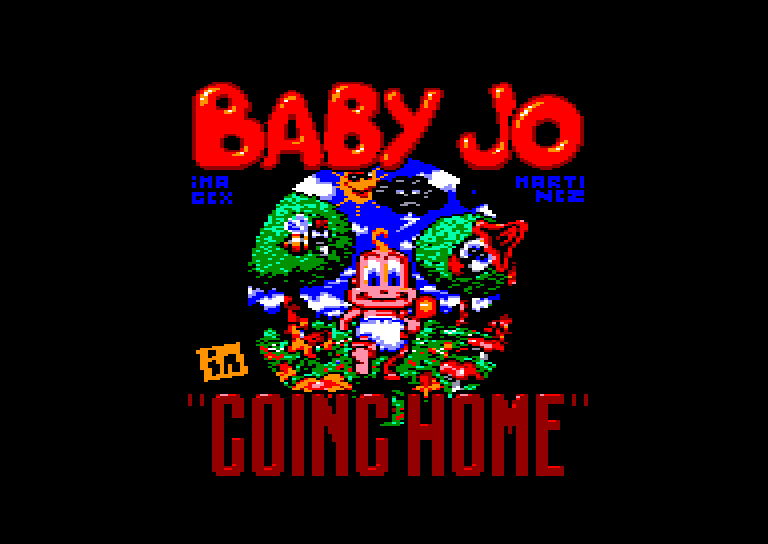Amstrad CPC - Baby Joe in Going Home