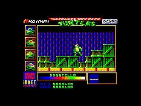 24 Août: Prochain stream Amstrad CPC - Teenage mutant hero turtles
