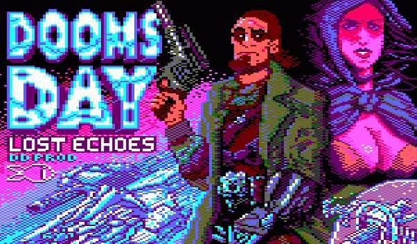 Doomsday Lost Echoes - Amstrad CPC