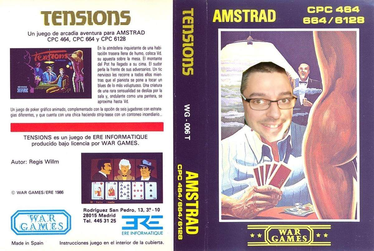 FR {Amstrad CPC} Tensions (Strip-Poker)
