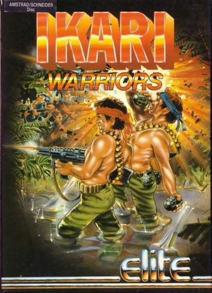 Ikari Warriors Theme Music - Amstrad CPC ♫