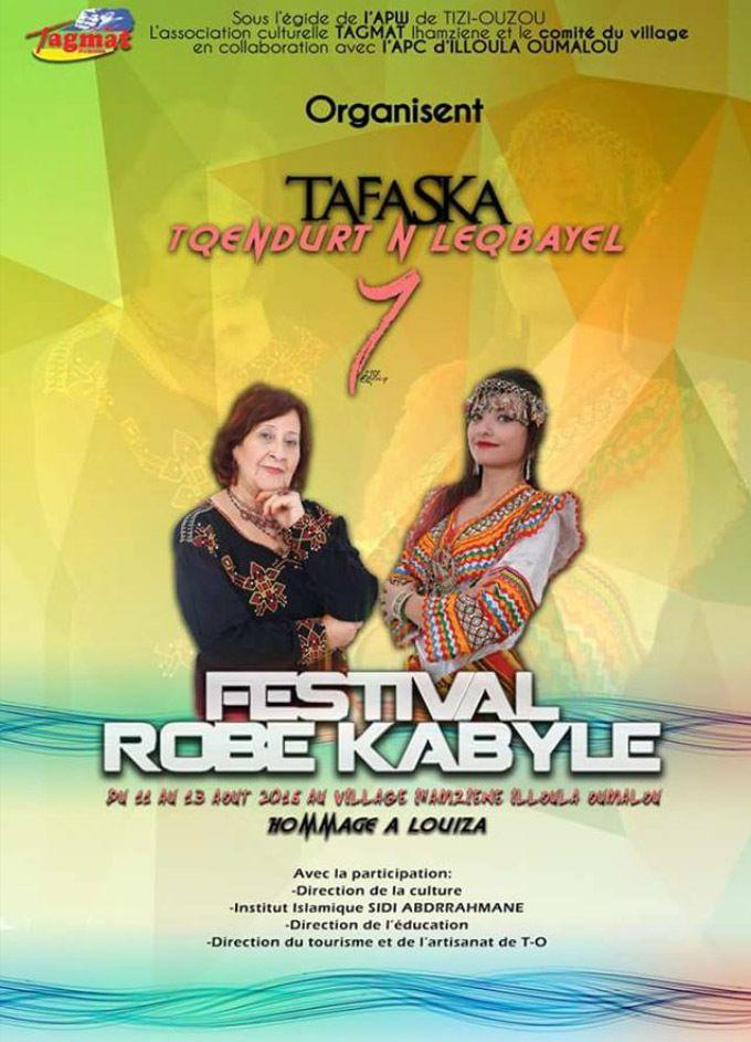 Kabylie - Festival de la robe Kabyle à Ihamziyen à Ilula umalu