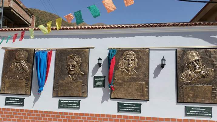 Kabylie - Le village Agentur rend hommage aux symboles de la Kabylie