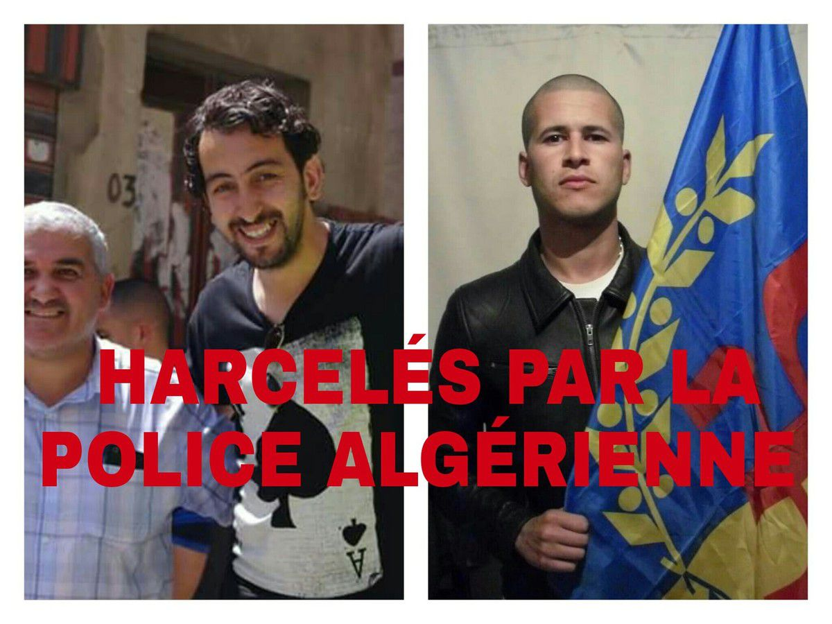 KABYLIE - Deux militants du MAK de nouveau convoqués par la Police algérienne - K-Direct