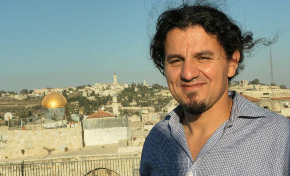 L'écrivain Karim Akouche en visite en Israël