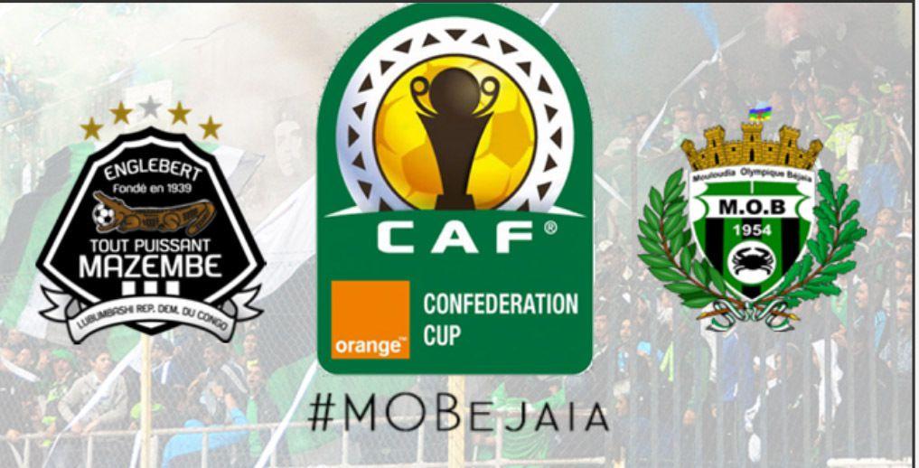 CAF : Finale de la Coupe de la CAF. Dates et lieux fixés pour le MOB et TPmazembe. K-Direct