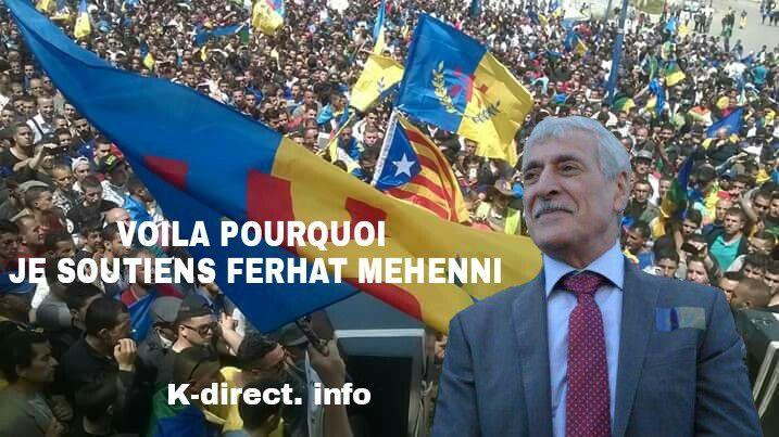 Contribution : Voilà pourquoi je soutiens le Président Ferhat Mehenni . K-Direct