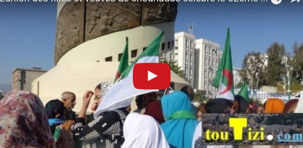 Tizi-Ouzou : Commémoration du 1er Novembre par les veuves et filles de Martyrs. K-Direct