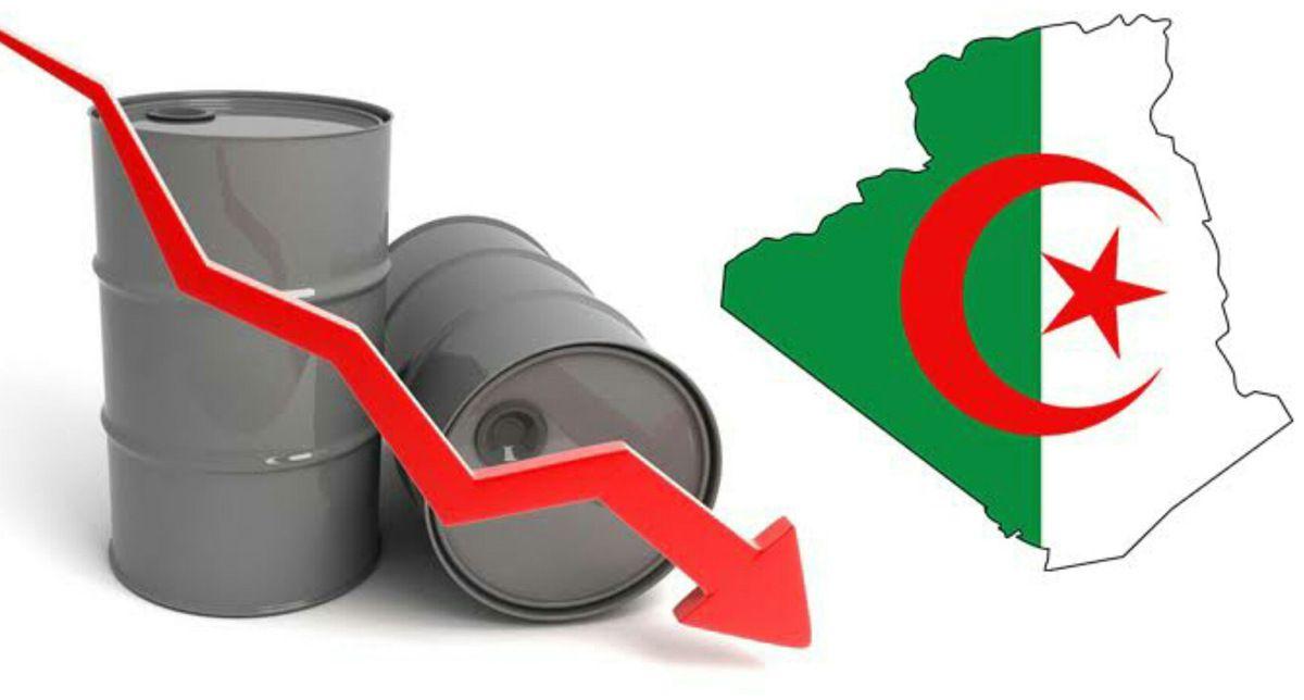 Les cours de pétrole en chute libre, l'effondrement de l'Algérie se dessine. K-Direct - Actualité