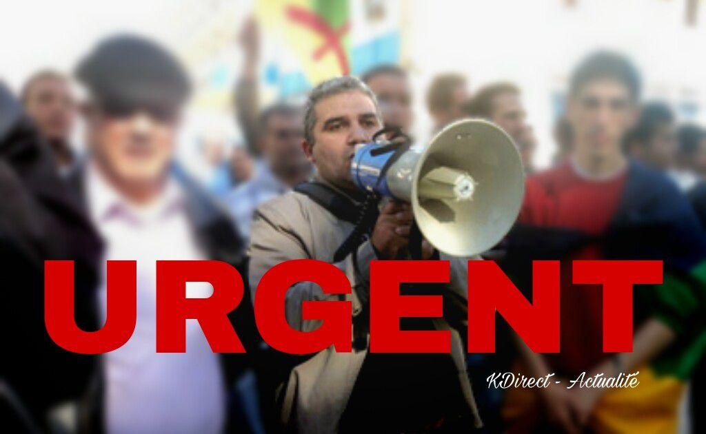 URGENT:  L'ancien Président du MAK Bouaziz Ait Chebib interpellé par la police algérienne - ACTUALISÉ