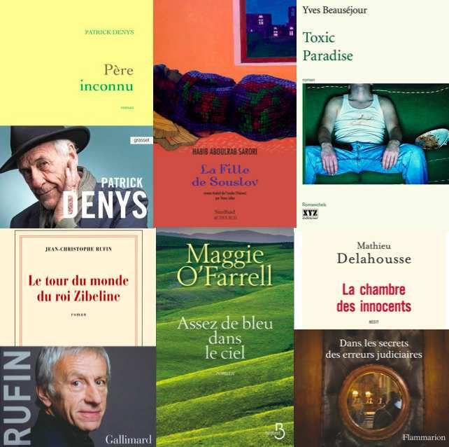 Sélection de livres du mois d'Avril 2017