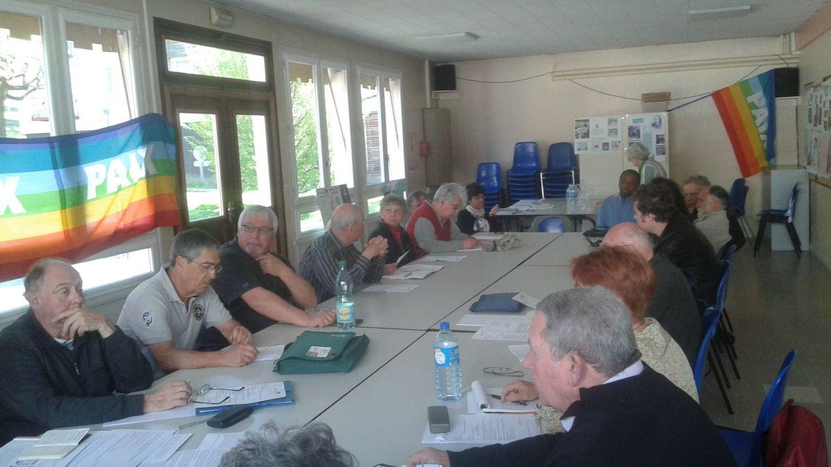 Retour sur l'Assemblée Générale 2017 du Mouvement de la Paix de Corrèze