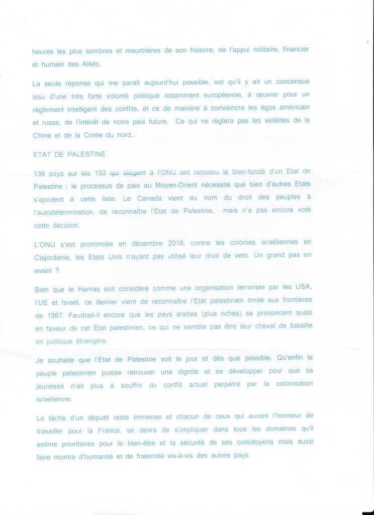 la réponse de Jean-Claude Deschamps