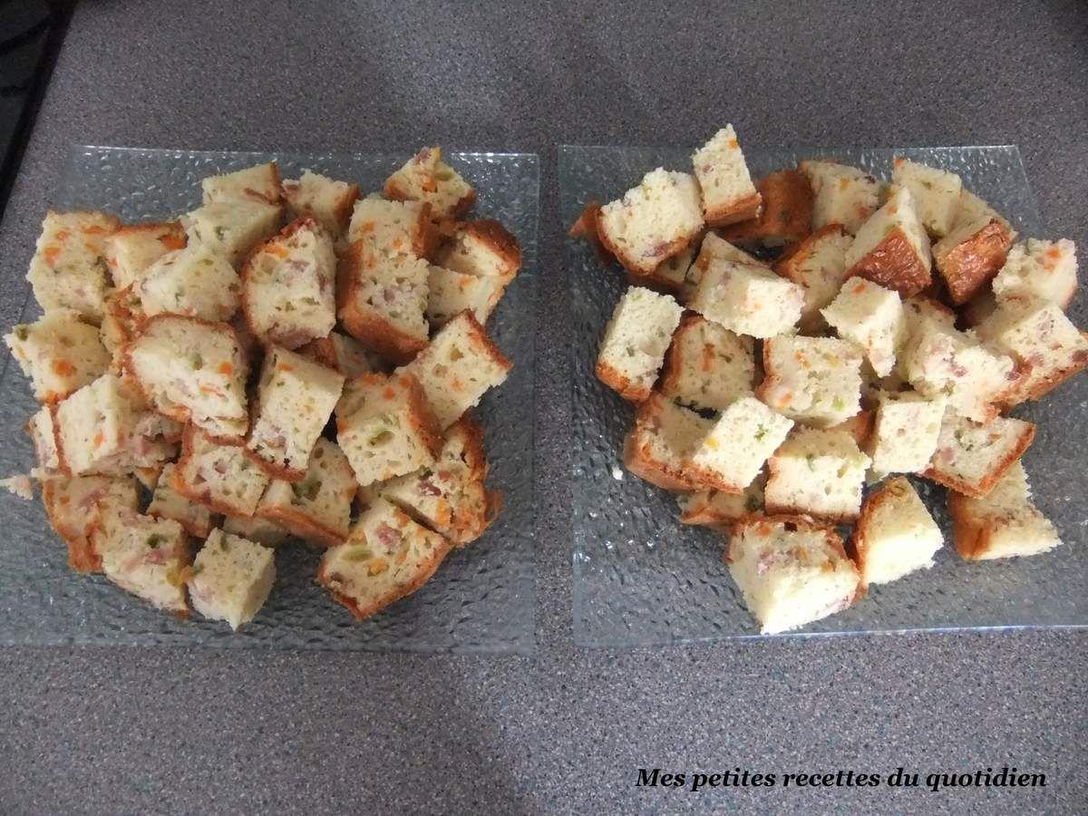 cake légumes lardons cumin thermomix ou non