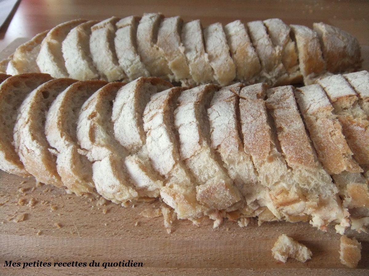 Baguette apéritive saumon et thon