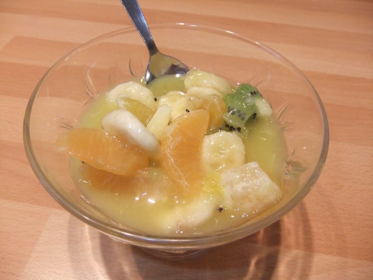 fe86f5e024b069 Salade de fruits au jus d'orange - Mes petites recettes du quotidien