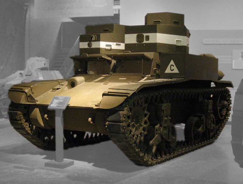 Light Tank M2 tourelle jumelle