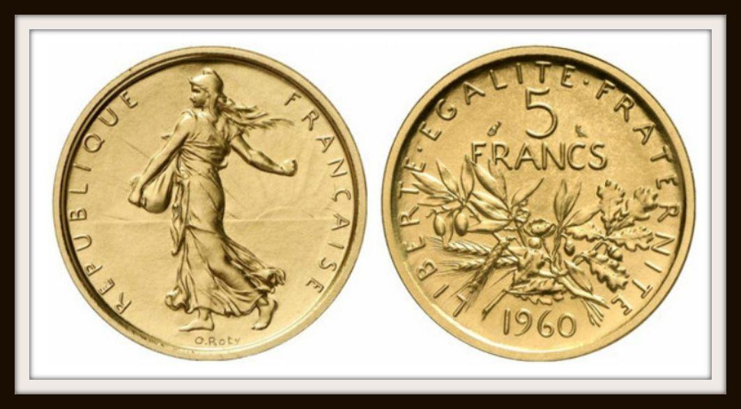 5 Francs Semeuse Argent 1960 1969 Un Monde De Fous