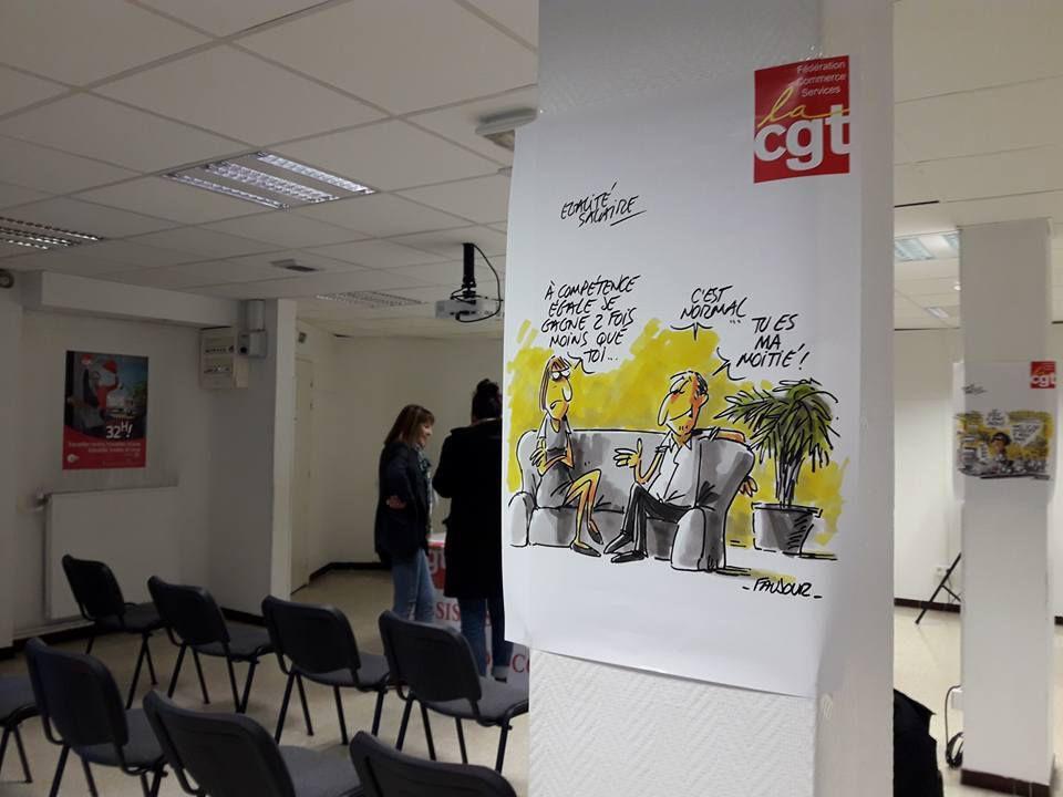 Assises du Commerce Var : La CGT à l'offensive !