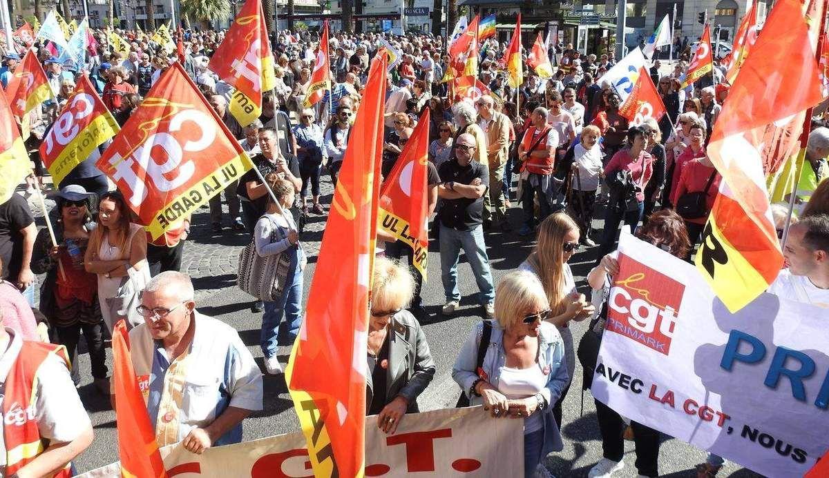 Manifestation du 21 septembre à Toulon : On lâche rien !
