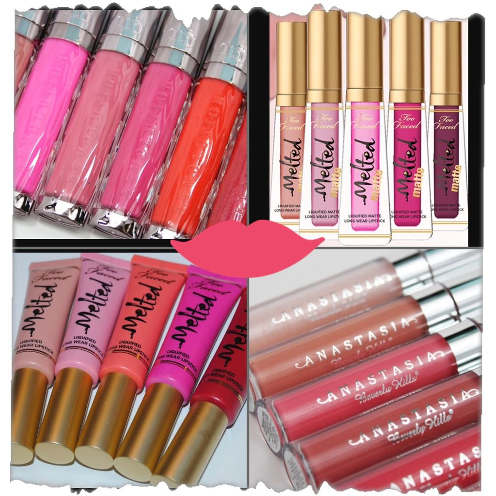 Gloss Urban Decay, Too Faced, Anastasia Beverly Hills