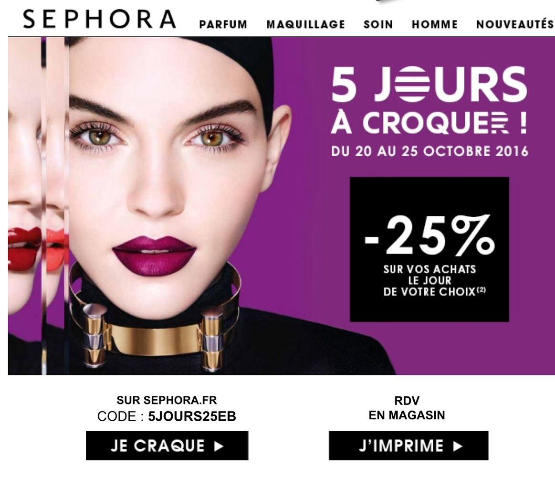 Nouveau bon plan Sephora !