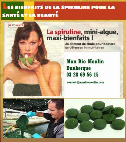 . Les bienfaits de la spiruline pour la santé et la beauté