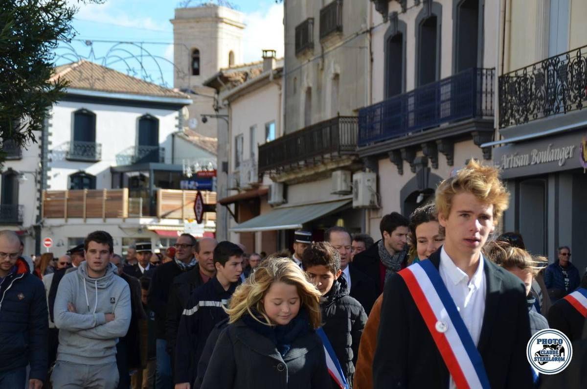 Cérémonie 11 NOVEMBRE  2016 Marseillan
