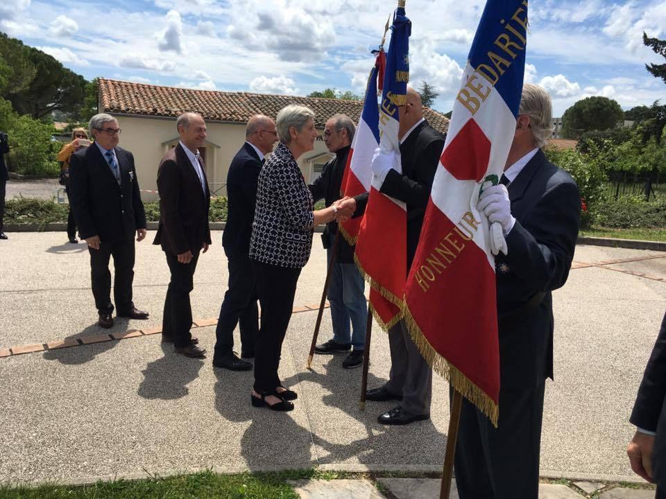 Le Souvenir Francais de MARSEILLAN  participe à l' Assemblée générale Société des  Membres de la Légion d'Honneur  Section de l'Hérault,