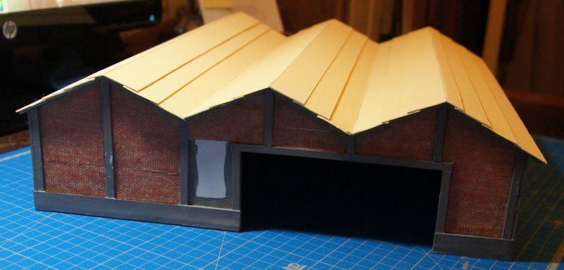 Construction d'un entrepot en PVC