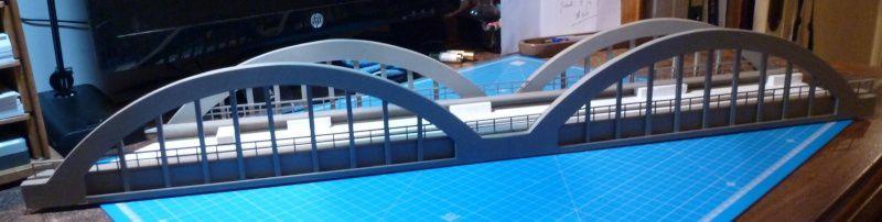 Pont Bow String en PVC