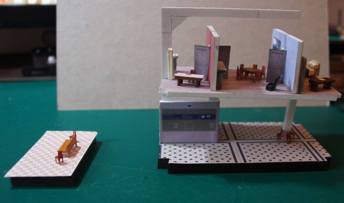 Gare en PLM &quot&#x3B;pierre synthétique&quot&#x3B;