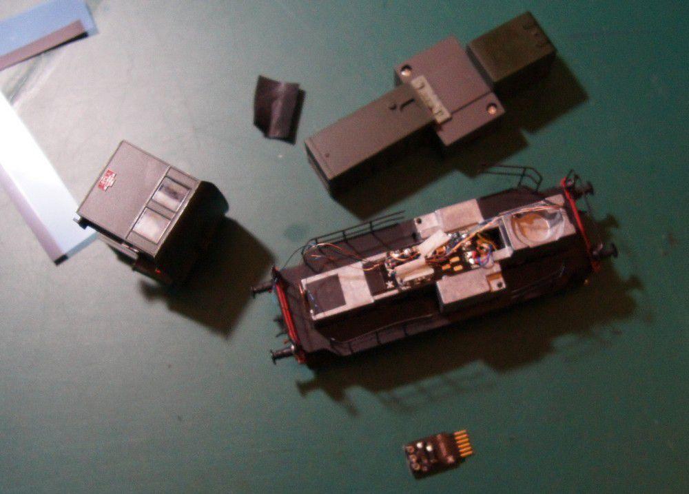 Digitaliser un locotracteur Y6400 EPM