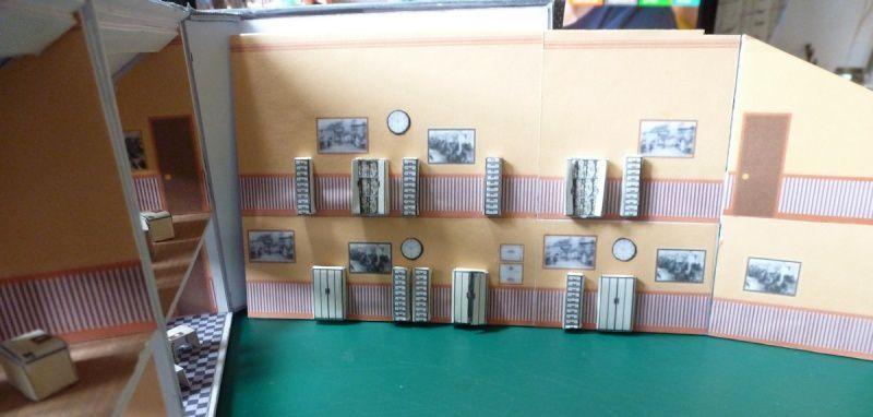 construction de commerces en carton plume
