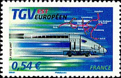 Trains et Philatélie années 2002 à 2007
