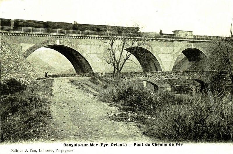 CP pont 3 arches à Baniuls