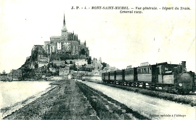 CP train du Mont Saint Michel