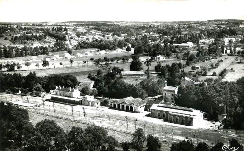 CP vue sur la gare de Riberac