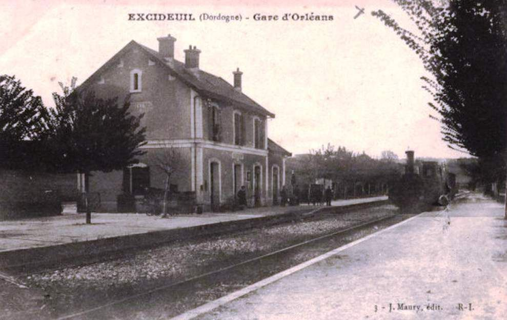 Gare d'Excideuil