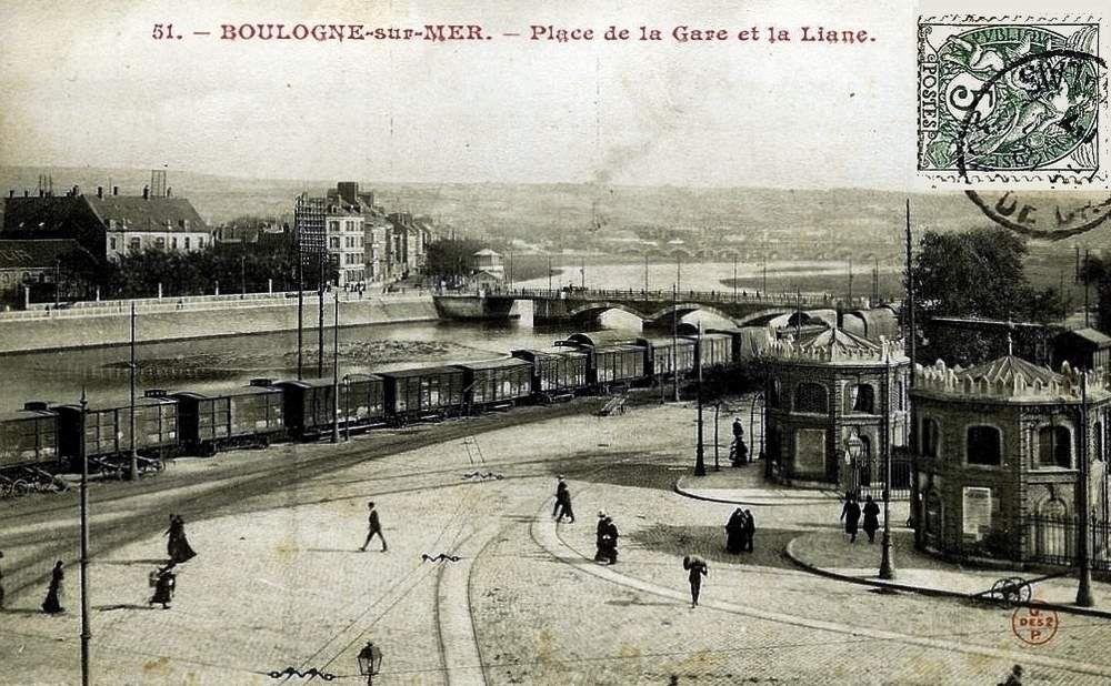 CP gare de Boulogne (Coté voies)
