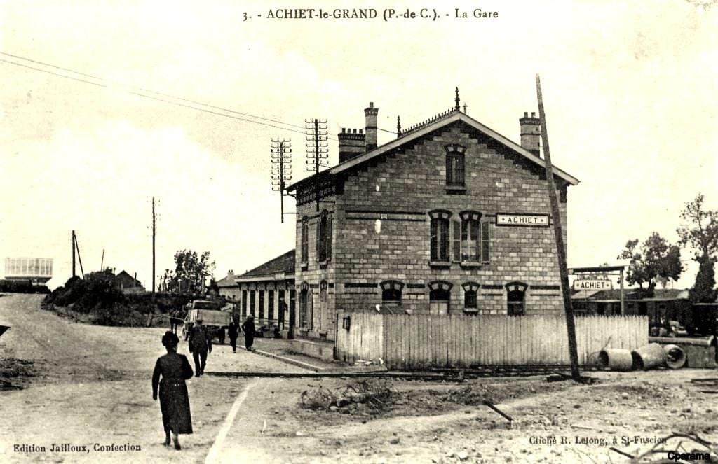 CP gare de Achiet-le- grand