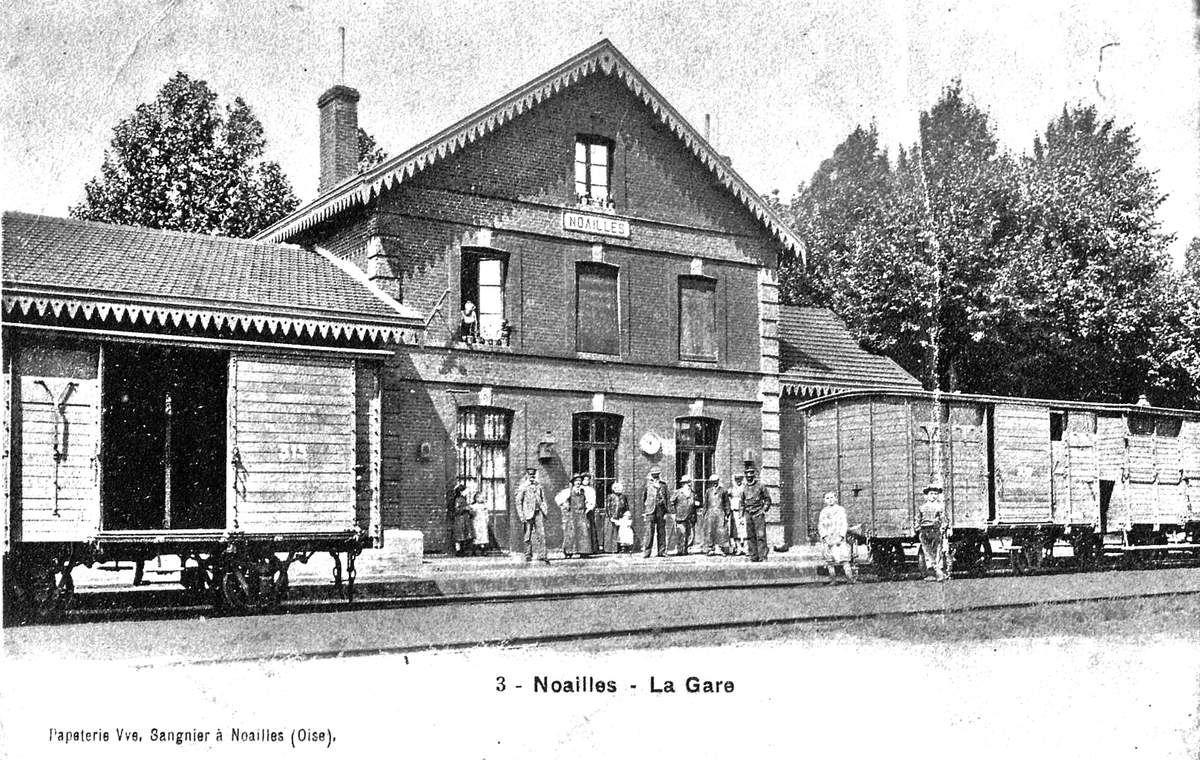 CP gare de NOAILLES (60)