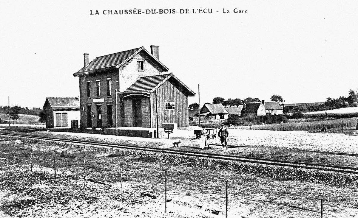 CP gare La Chaussée-du-Bois-d'Ecu (60)