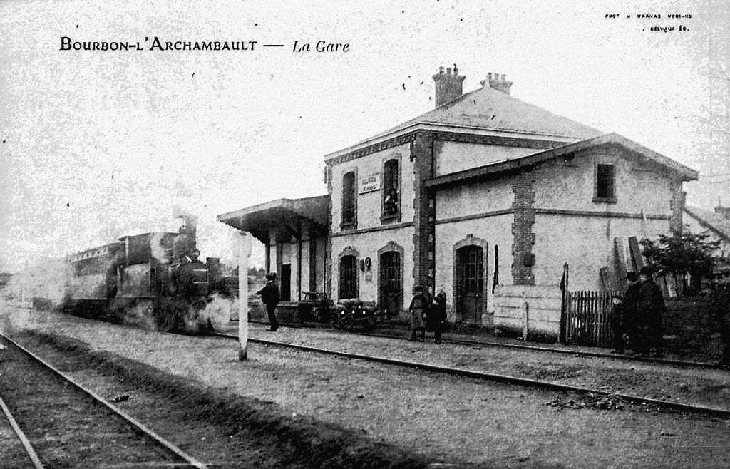 CP gare de Bourbon l'Archambault
