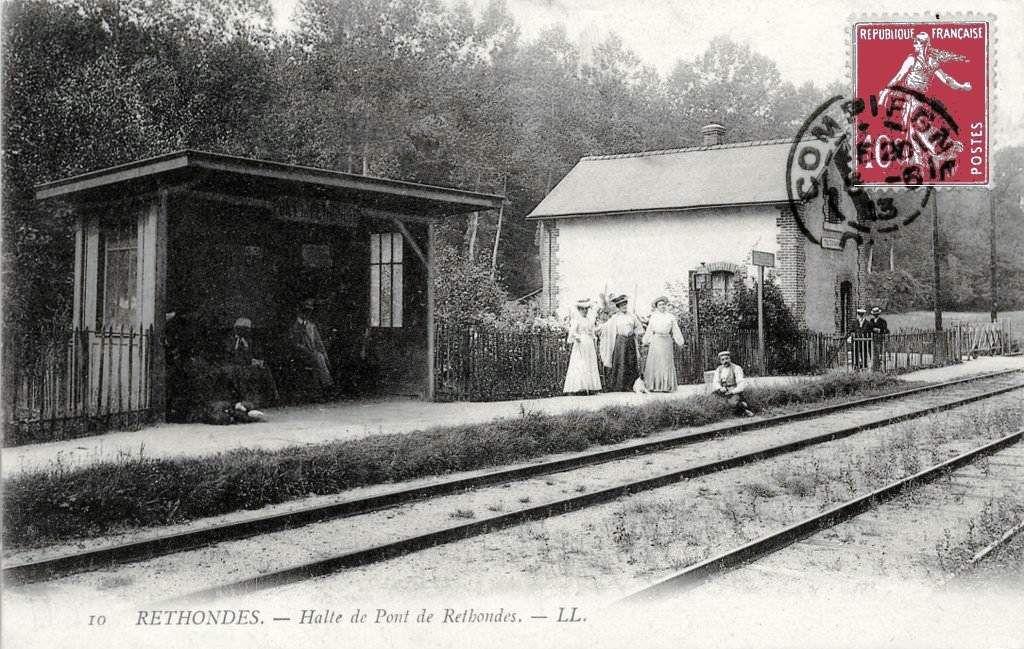CP gare de Rethondes (Oise)